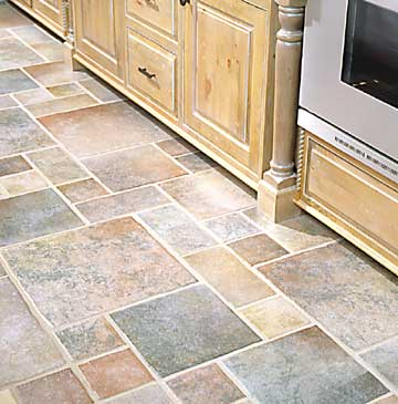 kitchen flooring options - northwood construction