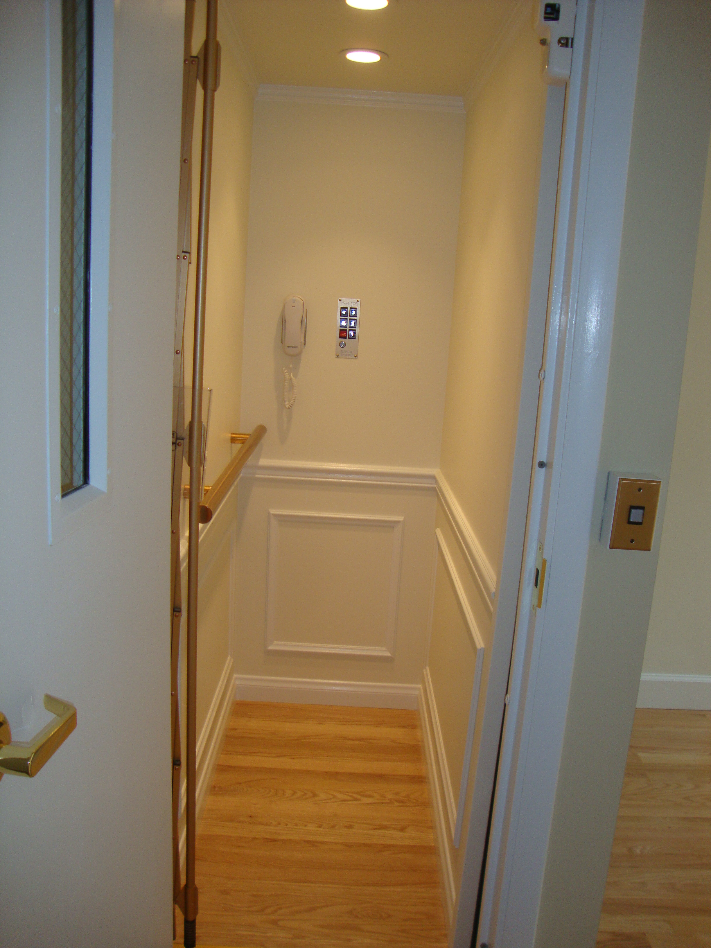 Aging in place tips the accessible house plan without for Wheelchair accessible house plans with elevator