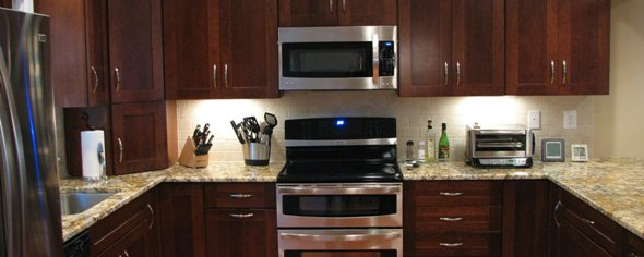 Wonderful Kitchen With Stainless Steel Appliances Part 13